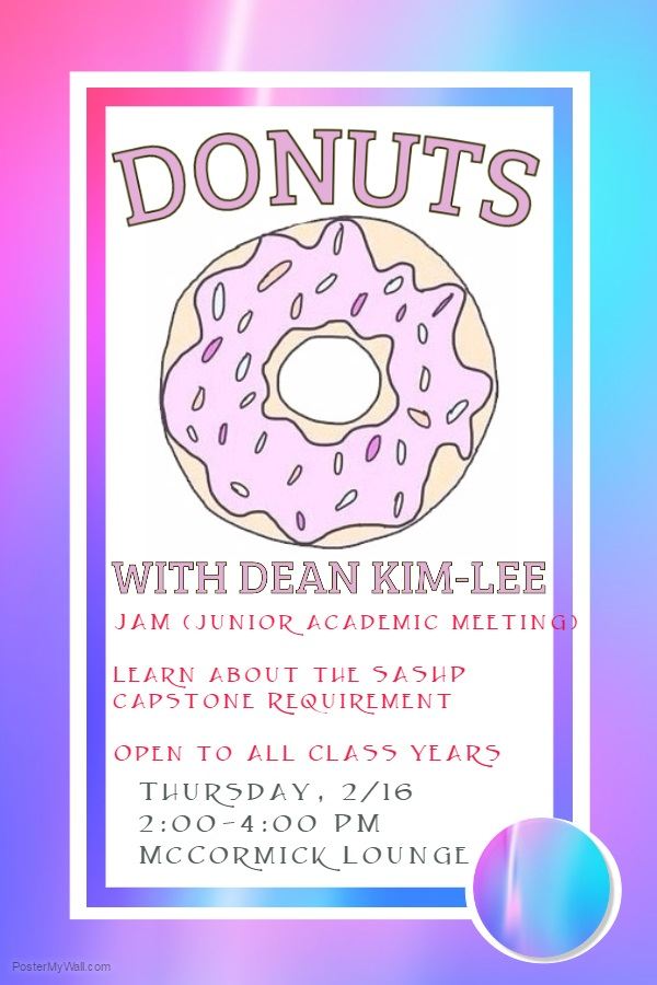 February Donuts with the Dean