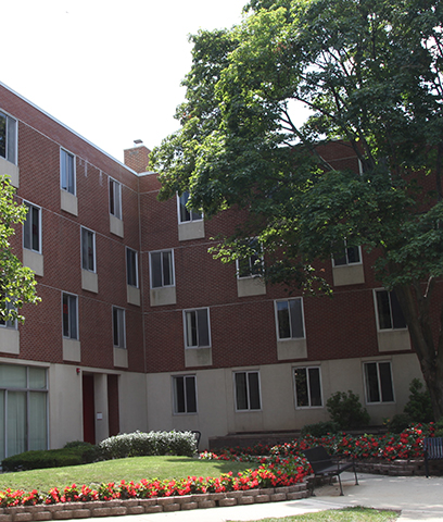 College Avenue Campus: Brett Hall