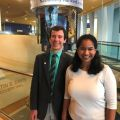 Dr. Shaffer and Ankita Veta