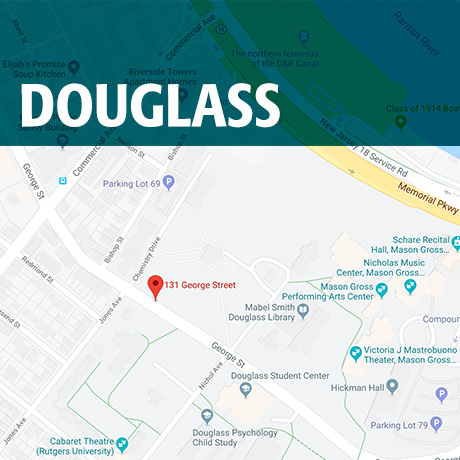 Rutgers Douglass Campus Map.Douglass Campus